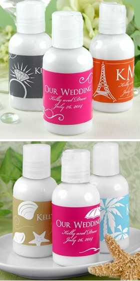 Personalized Hand Lotion - Silhouette Collection