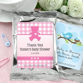 Baby Coffee Favours (Silver)