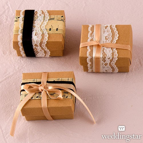 Vintage Style Favor Wrapping Kit (Set of 12)