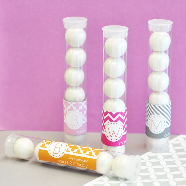 MOD Pattern Monogram Candy Tubes
