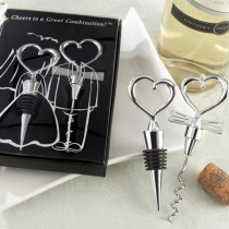 """Cheers to a Great Combination"" Wine Set"