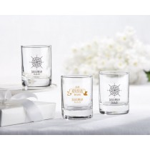 Personalized Shot Glass/Votive Holder - Travel and Adventure