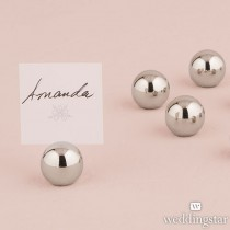 Classic Round Place Card Holders (pkgs of 8 )