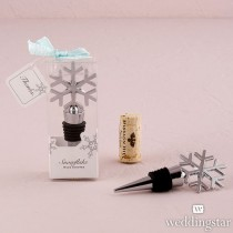 Snowflake Shaped Wine Stopper