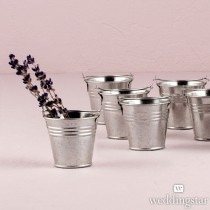 Miniature Metal Pails (Set of 12)