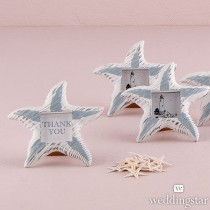 Small Wooden Starfish Photo Frames (pkgs of 8)