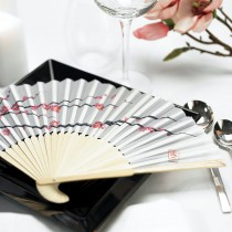 Cherry Blossom Hand Fans (pkgs of 6)