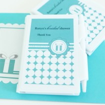 Personalized Notebook Favours - Something Blue