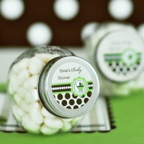 Personalized Candy Jars - Green Baby