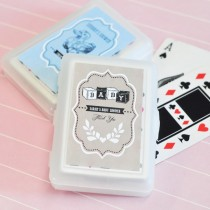 Vintage Baby Personalized Playing Cards
