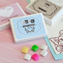 Vintage Baby Personalized Gum Boxes