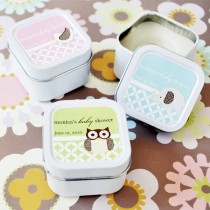 Baby Animal Square Candle Tins