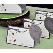 Please Be Seeded Leaf Plantable Seed Place Cards (set of 12)