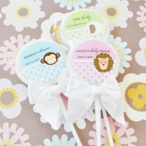 Baby Animal Lollipop Favours