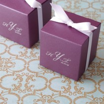 Monogram Stardream Cube Favour Box